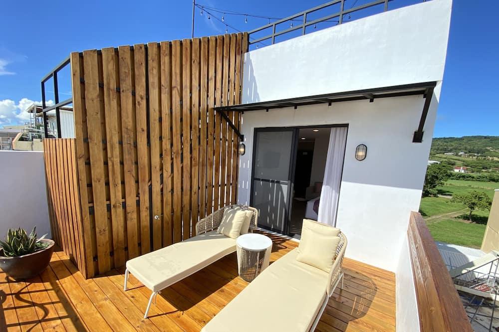 Double Room City and Sea View with Balcony - Balcony