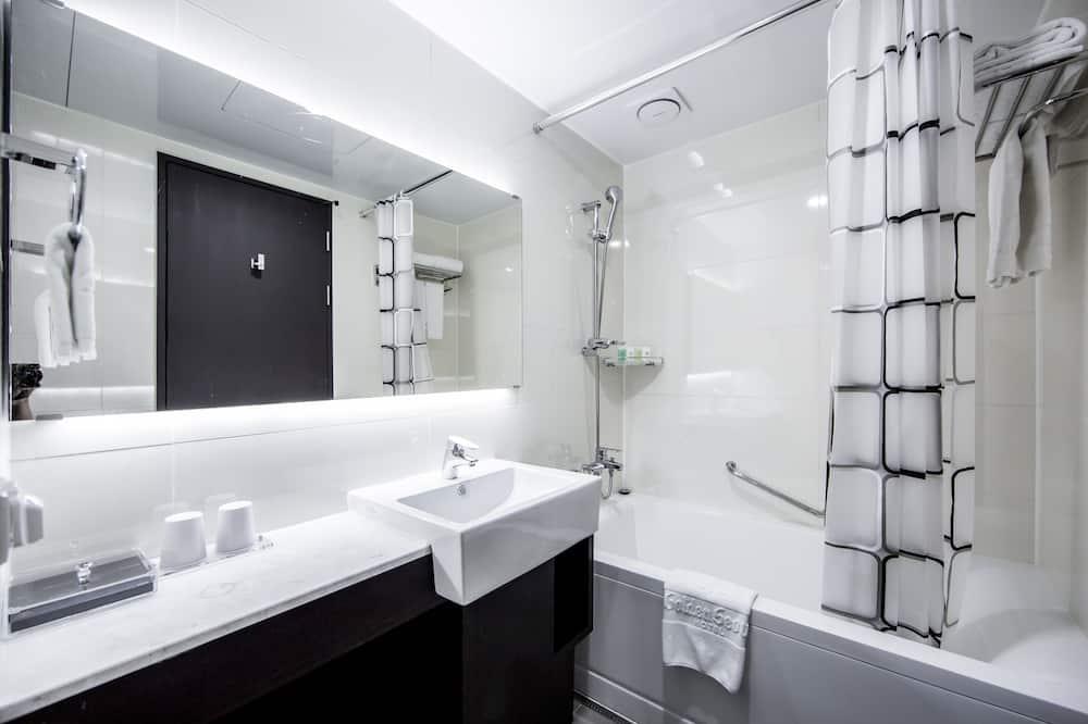 家庭雙床房 - 浴室