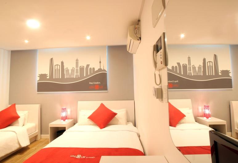 福特優尼克飯店, 首爾, 豪華雙床房, 客房