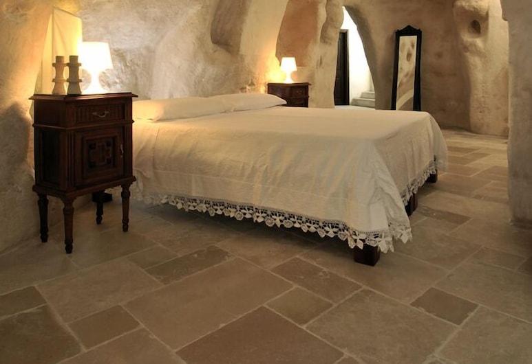 Fra i Sassi - Residence, Matera, Namas šeimai, 2 miegamieji, virtuvė, vaizdas į miestą, Kambarys