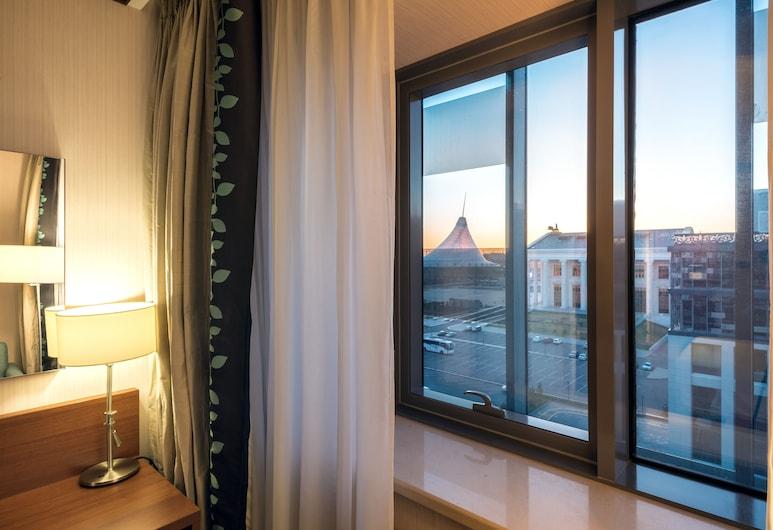 Hilton Garden Inn Astana, Nur-Sultan, חדר, מיטת קווין, נגישות לנכים, נוף מחדר האורחים