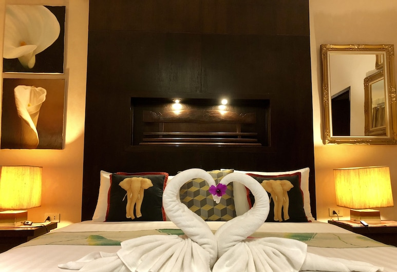 拜博生活時尚飯店, 芭東, Deluxe Room, 客房
