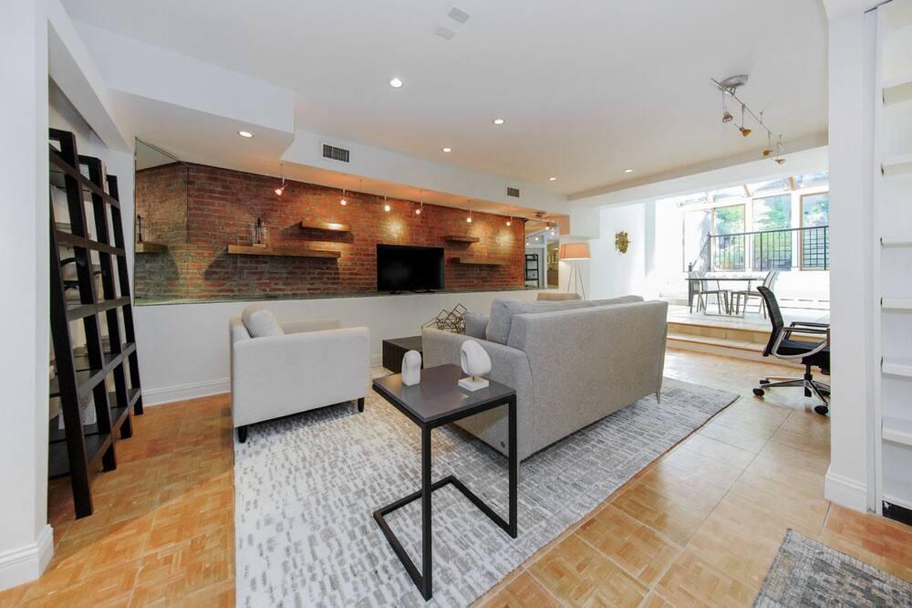 Studiové apartmá typu Grand - Obývací prostor