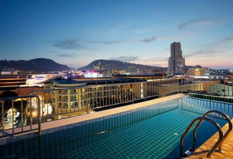 布吉蘭花渡假酒店, 巴東, 室外泳池