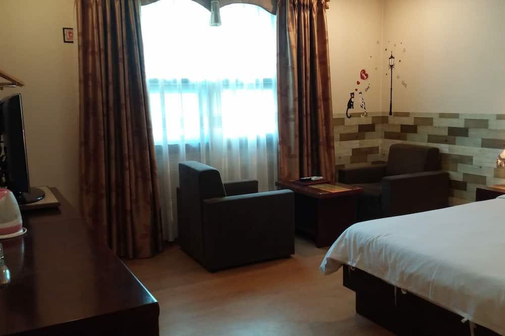 Standard Tek Büyük Yataklı Oda - Oturma Alanı