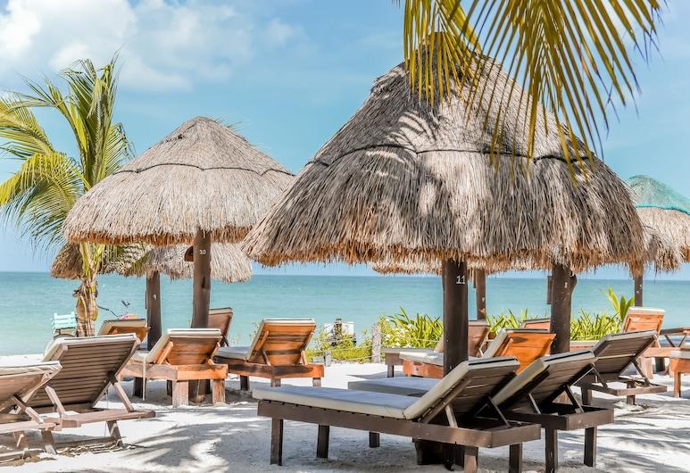 Zomay Beachfront Hotel Holbox, Isla Holbox, Pláž