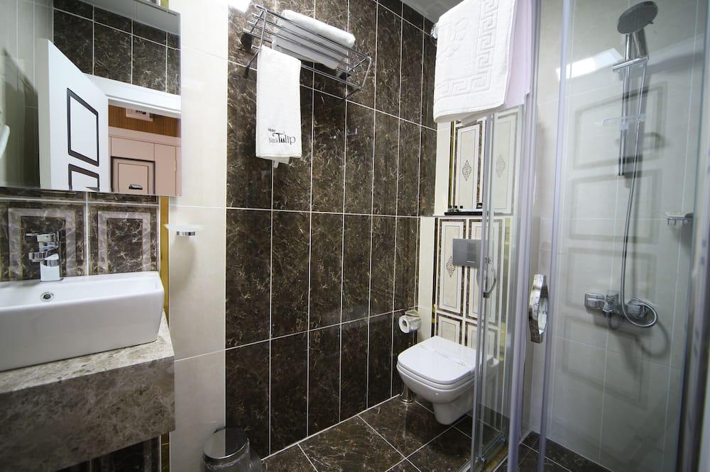 Стандартный одноместный номер, 1 односпальная кровать - Ванная комната
