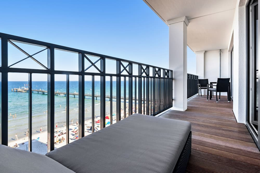 Suite, vista al mar - Balcón