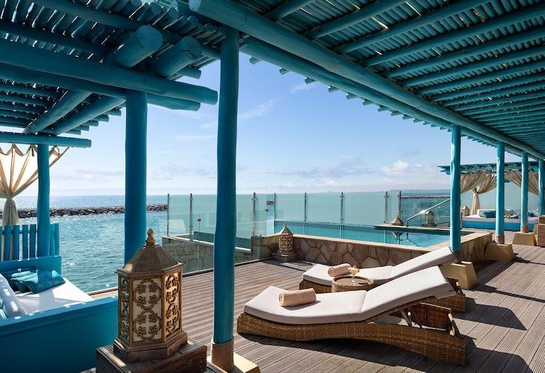 Banana Island Resort Doha By Anantara, Doha, Villa - 3 sovrum - havsutsikt - ovan vatten (Private Pool), Vardagsrum