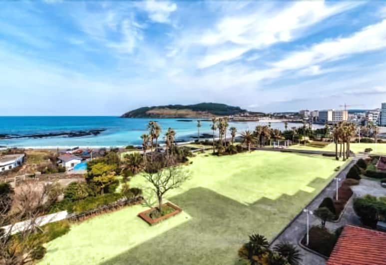 Jeju Sunshine Hotel, Jeju City, Sviit, osaline ookeanivaade, Rõdu