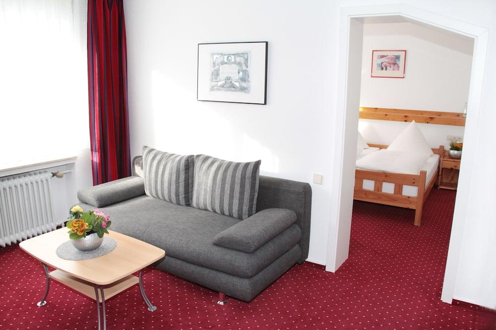 Phòng Suite, Ban công - Khu phòng khách