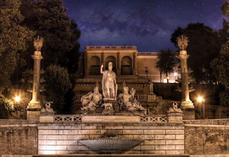 리페타 팰리스, 로마, 외부