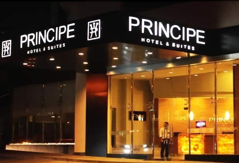 Principe Hotel and Suites, Panama City, Hotel Front – Evening/Night