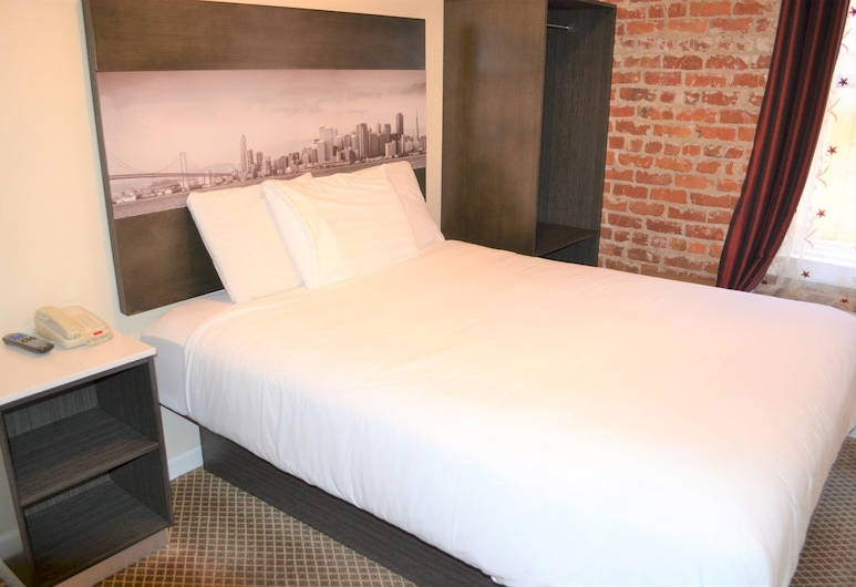 Inn on Folsom, San Francisco, Standard Room, 1 Queen Bed, Shared Bathroom, Guest Room