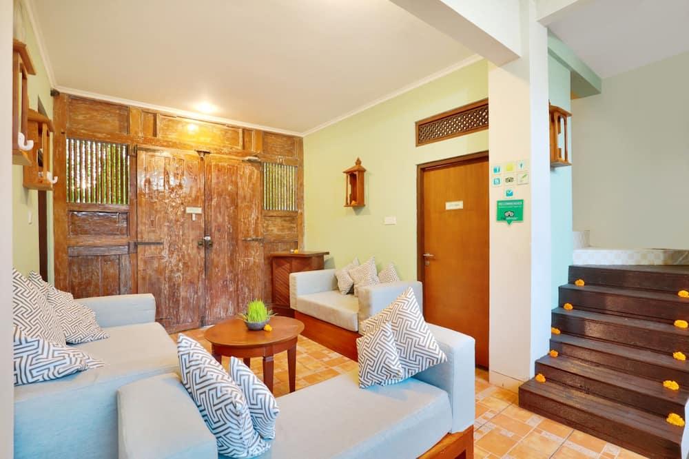 Vila, 4 spavaće sobe, privatni bazen - Dnevni boravak