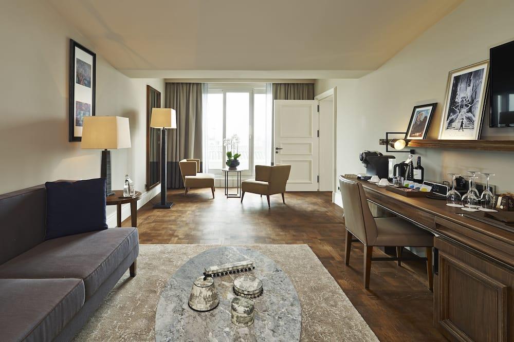 Penthouse, Terrace - Living Area