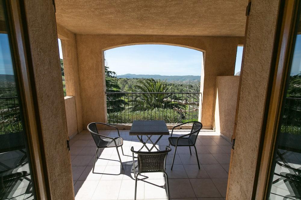 標準三人房, 露台, 山谷景 - 客房