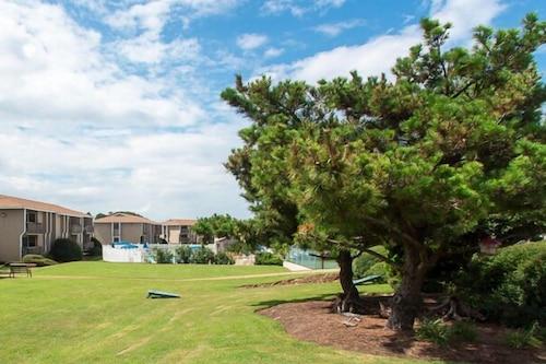 網球高爾夫球海灘海景渡假村/