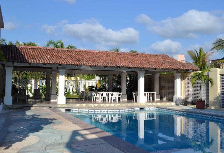 Concierge Plaza San Rafael, Cuyutlan, Açık Yüzme Havuzu