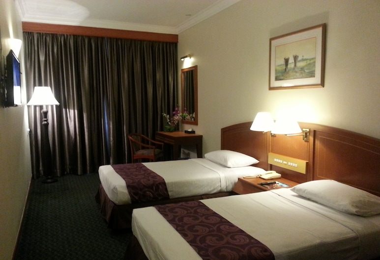 Hotel Orkid, Malacca City, Deluxe Twin Room, Guest Room