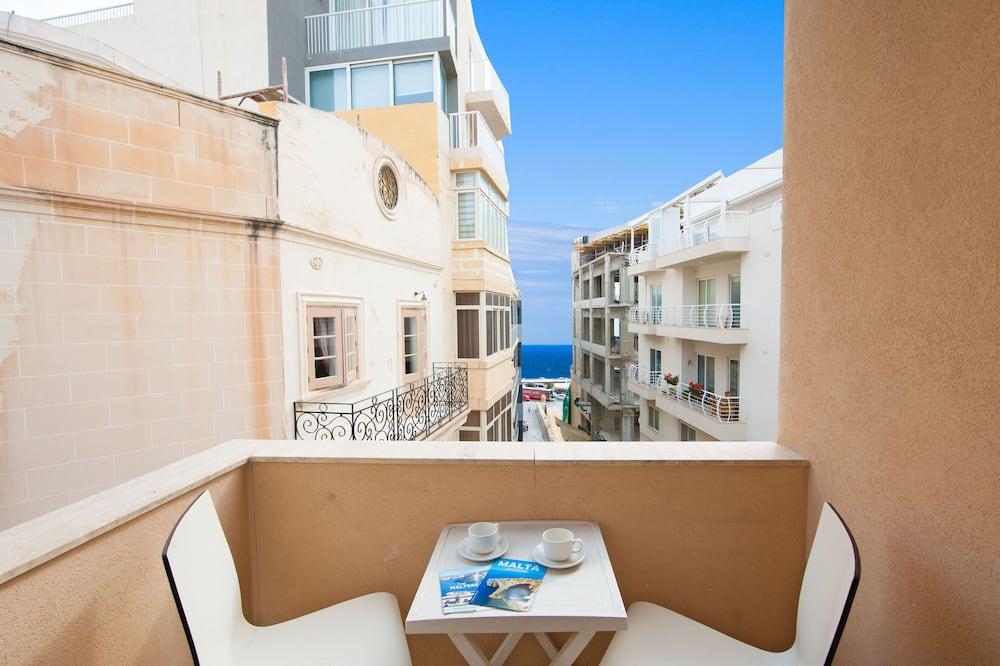 Стандартный двухместный номер с 1 двуспальной кроватью - Вид с балкона