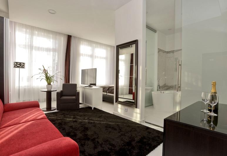 Hotel Jana, Praga, Suíte júnior, Área de estar