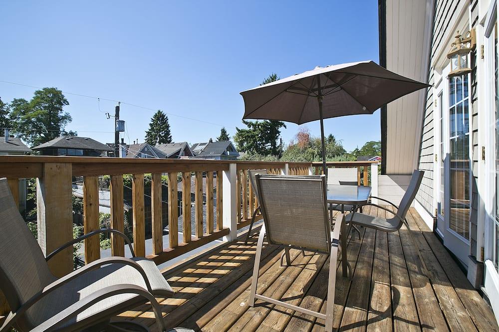 דירה, 3 חדרי שינה (Bayswater) - מרפסת