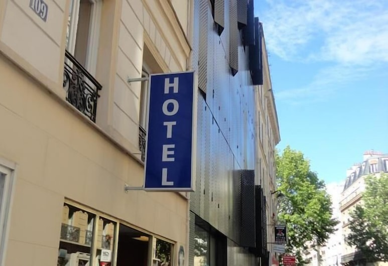 Hotel Santana, Paryż, Fasada hotelu