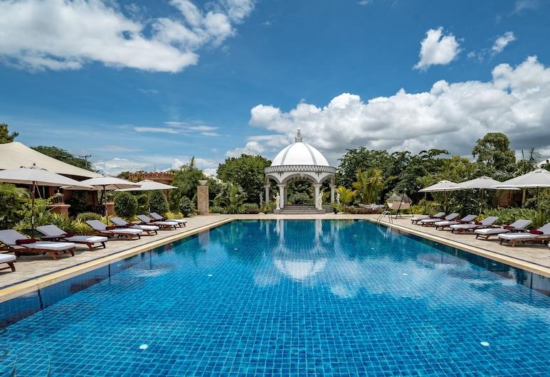 Bagan Lodge, Nyaung-U, Piscina al aire libre