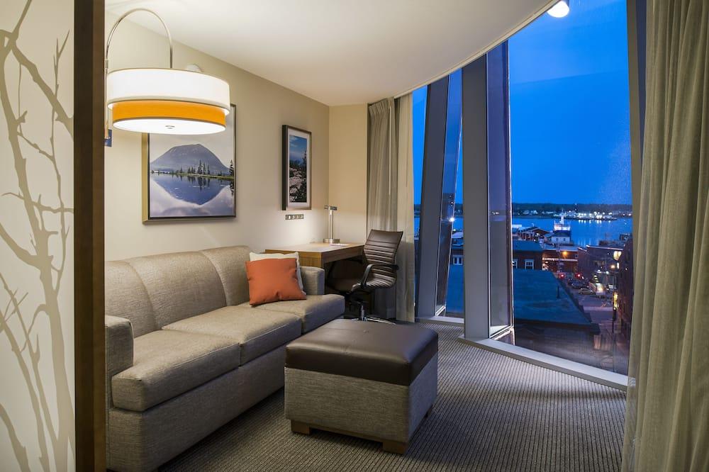 غرفة - سرير ملكي مع أريكة سرير (Specialty, Fore Street View) - غرفة نزلاء