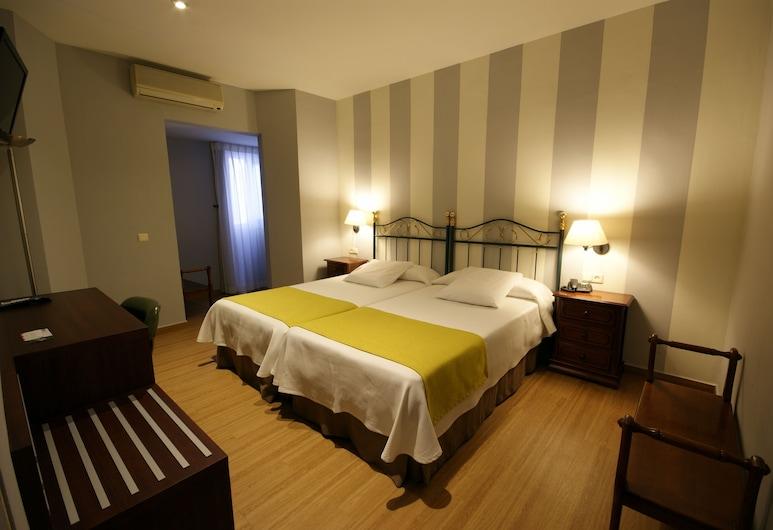Hotel Venecia, Málaga, Chambre avec lits jumeaux, Chambre