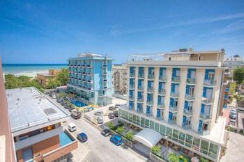 Selline näeb välja Hotel Tabor, Rimini