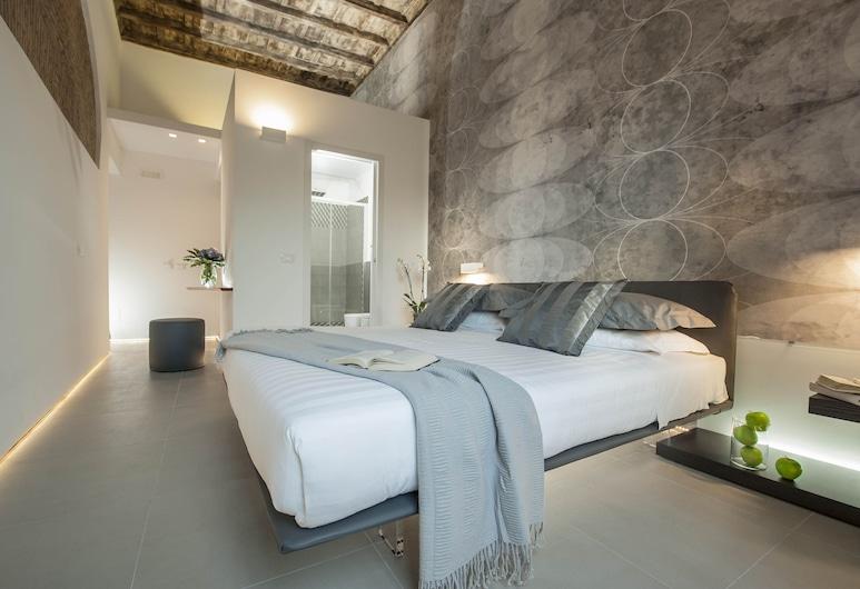 Second Floor, Rím, Dvojlôžková izba typu Deluxe, výhľad na mesto, Hosťovská izba