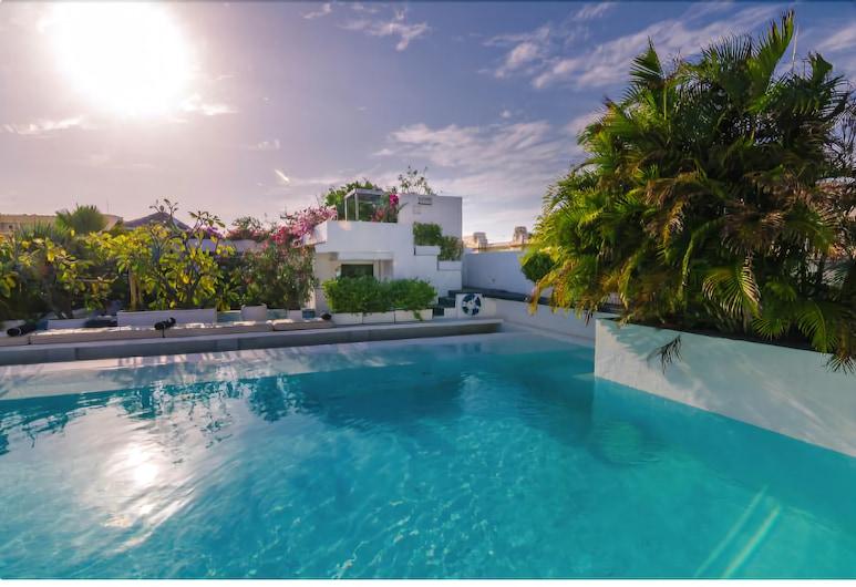 La Passion Hotel, Cartagena, Panoramic Suite, Teres/Laman Dalam