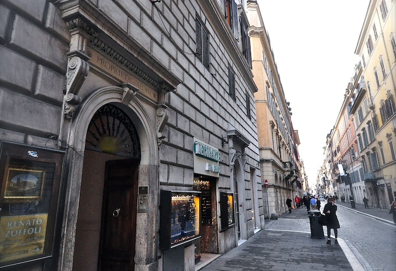 Babuino127 Rooms, Rom, Hotellets facade