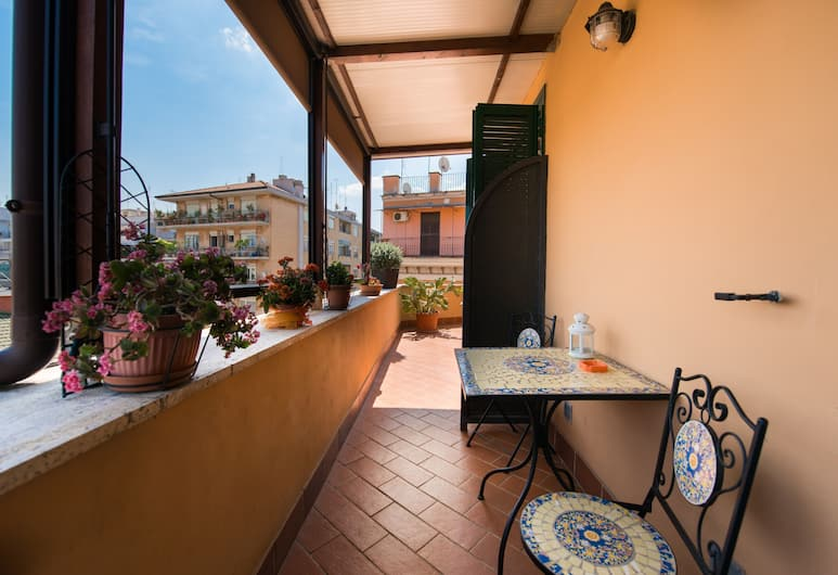 Orlando Innamorato B&B, Rom, Terrasse/patio