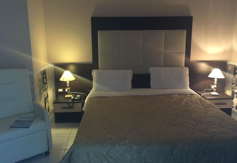 Hotel De La Ville Relais, Fiumicino, prabangus dvivietis kambarys, Svečių kambarys