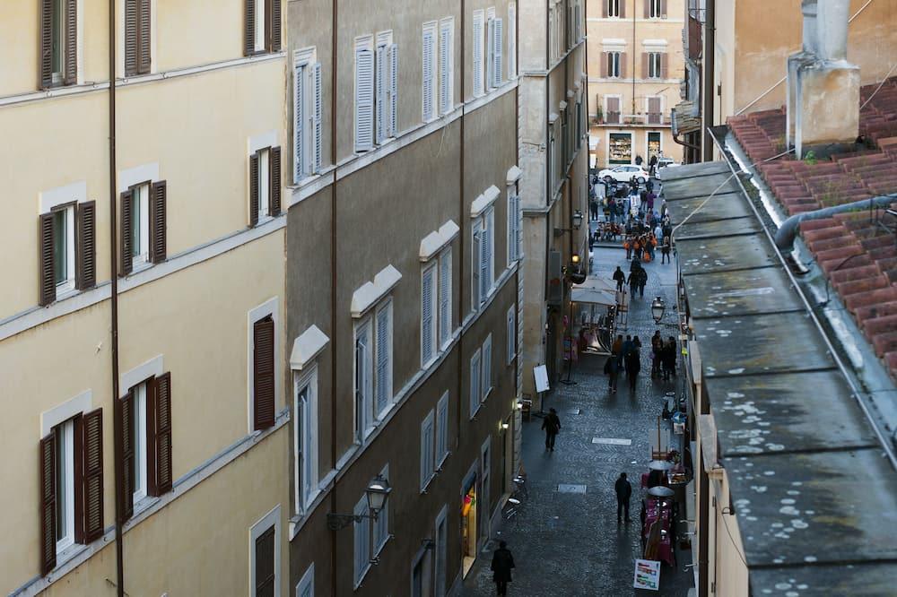 高級雙人房, 城市景 - 街景