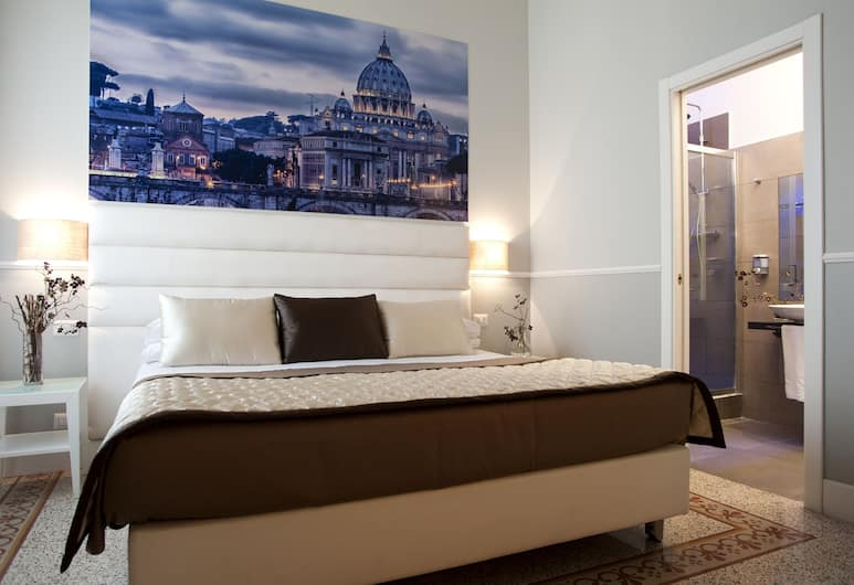La Mongolfiera Rooms, Rome, Junior suite, Kamer