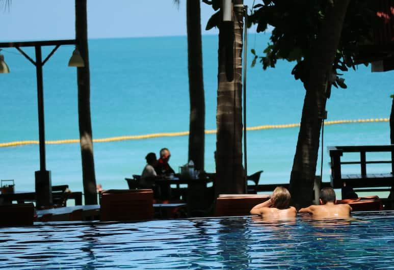 Palita Lodge, Ko Pha-ngan, Vonkajší bazén