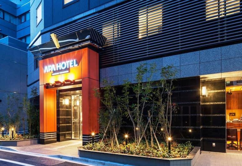 APA Hotel Shimbashi Toranomon, Tokyo, Hotel Front – Evening/Night