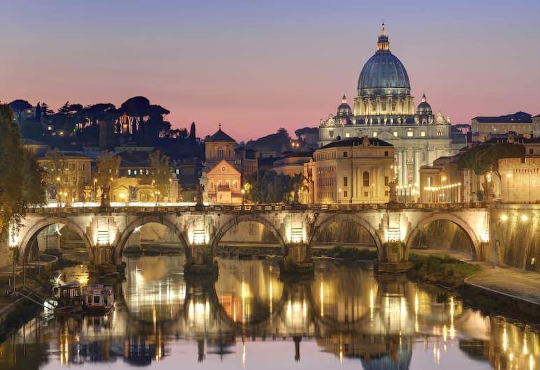 Domus Prati, Rome, View from Hotel