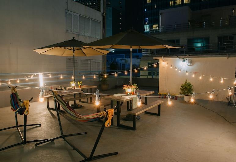 我們旅館, 釜山, 陽台