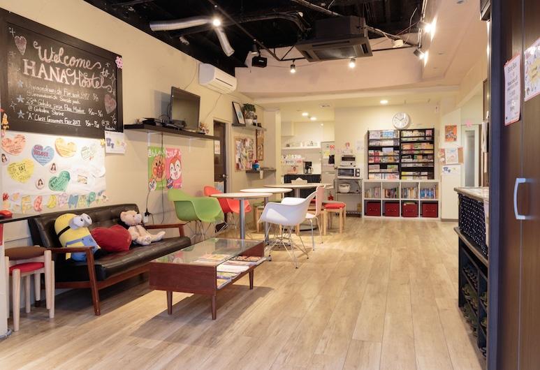 Fukuoka Hana Hostel, Fukuoka, Salónik v hale