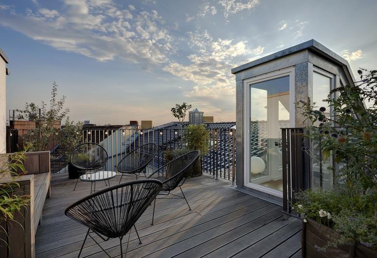 Gorki Apartments Berlin , Berlin, Penthouse, 2 Bedrooms, Terrace, Teres/Laman Dalam