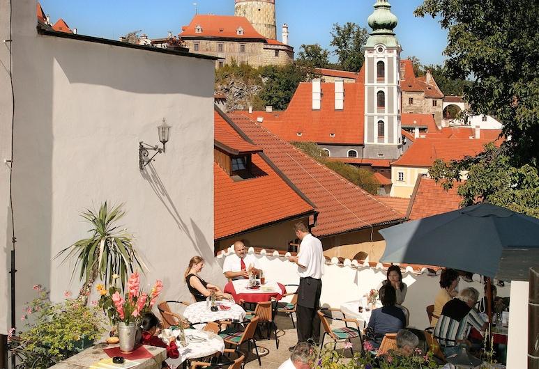 Hotel Konvice, Cesky Krumlov, Terrace/Patio