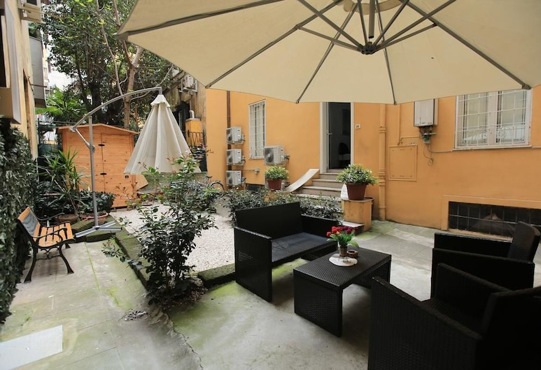A Casa Nostra, Rome, Courtyard