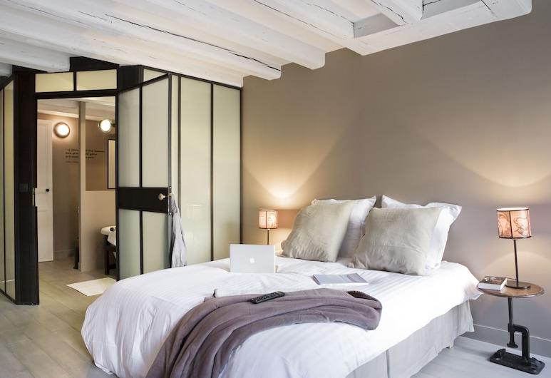 Surprenantes - La Nuit, Nantes, Appartement de 1 chambre, Chambre