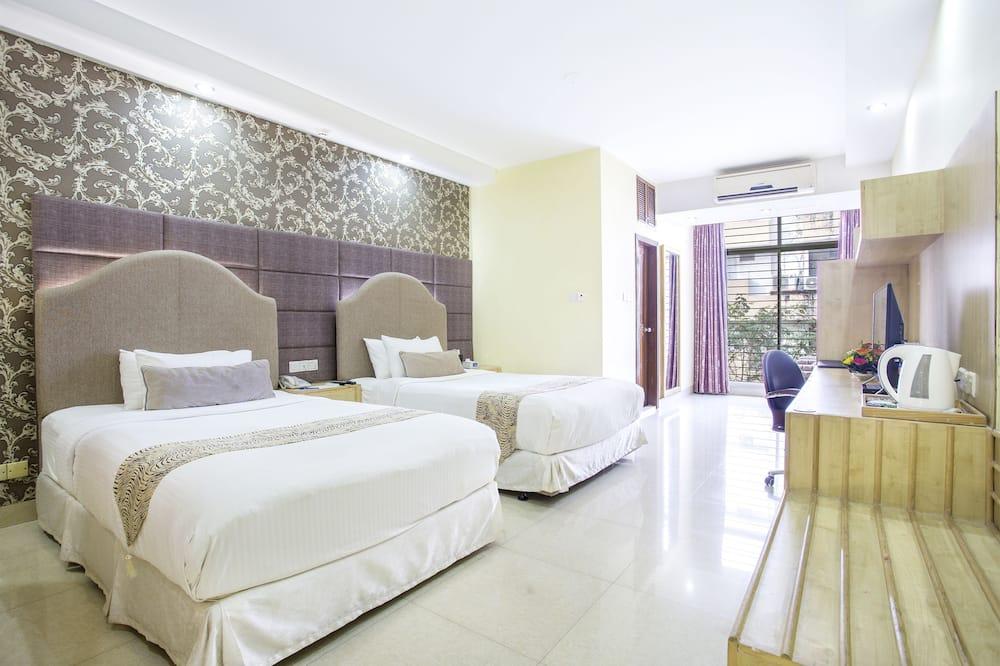 Premium Double Room - Pemandangan Bilik Tamu