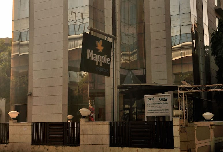Mapple Express, New Delhi, Voorkant hotel